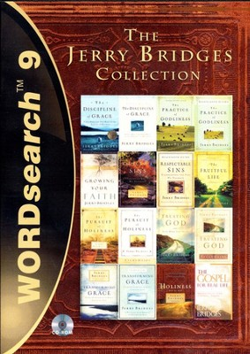 WORDsearch 9: The Jerry Bridges Collection  -     By: Jerry Bridges