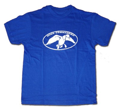 Duck Commander Shirt, Blue, Youth Small                    Duck Commander Series   -