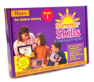 Summer Skills for Children Entering Grade 1   -