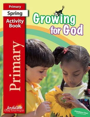 Growing for God Primary (Grades 1-2) Activity Book   -
