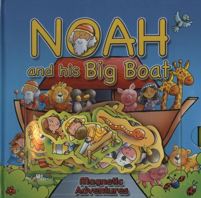 Noah and His Big Boat: Magnetic Adventures   -     By: Helen Prole, illus.     Illustrated By: Helen Prole