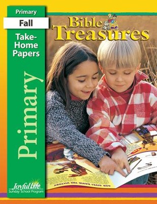 Bible Treasures Primary (Grades 1-2) Take-Home Papers   -