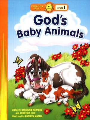 God's Baby Animals  -     By: Marjorie Redford, Courtney Rice