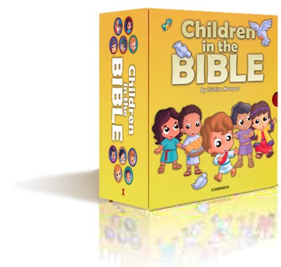 Children in the Bible, Slipcase with 10 Books   -