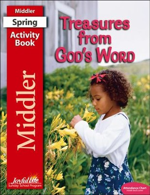 Treasures from God's Word Middler (Grades 3-4) Activity Book  -