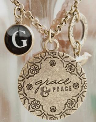Grace & Peace Pendant   -