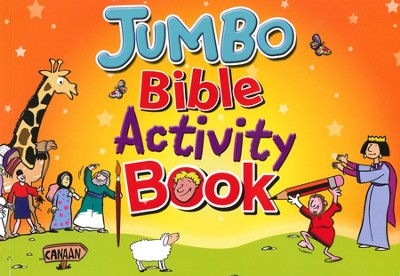 Jumbo Bible Activity Book   -