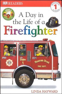 DK Readers, Level 1: A Day in the Life of a Firefighter   -     By: Linda Hayward