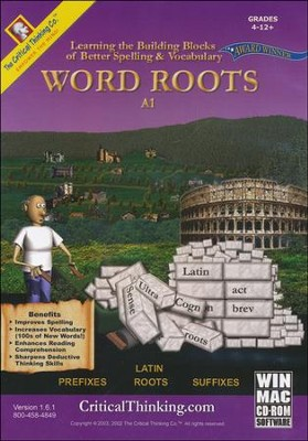 Word Roots, Level A1 on CD-ROM   -