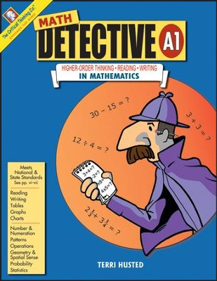 Math Detective, Level A1, Grades 5-6   -     By: Terri Husted