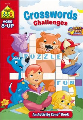 Crosswords Challenges, Ages 8 & Up   -     By: Joan Hoffman