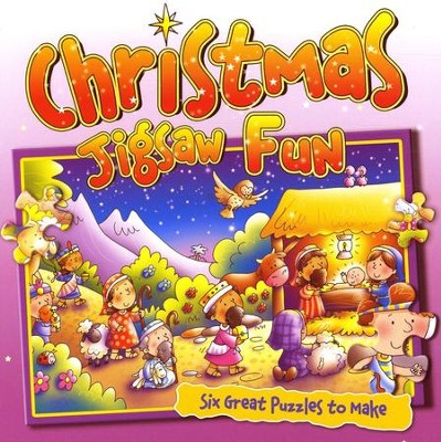 Christmas Jigsaw Fun  -     By: Juliet David     Illustrated By: Helen Prole
