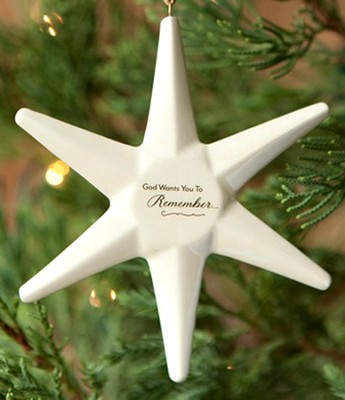 God Is For You Star Ornament  -