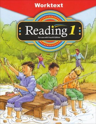 BJU Reading Grade 1 Student Worktext, Fourth Edition   -