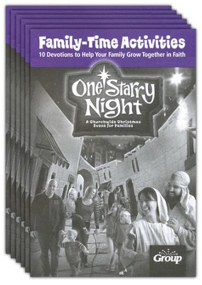 One Starry Night Family Time Devotions booklets, 10 Pack  -