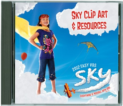 Sky Clip Art & Resources CD  -