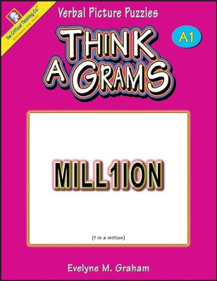 Think-A-Grams Grades 4-6 Ability Book A1   -     By: Evelyne M. Graham