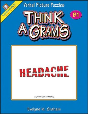 Think-A-Grams Grades 7-8 Ability Book B1   -     By: Homeschool