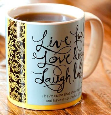 Live Love Laugh Mug  -