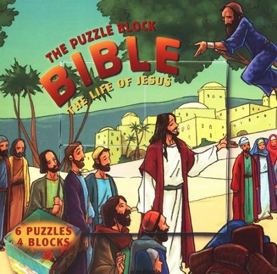 The Life of Jesus -Puzzle Block Bible   -     By: Gustavo Mazali