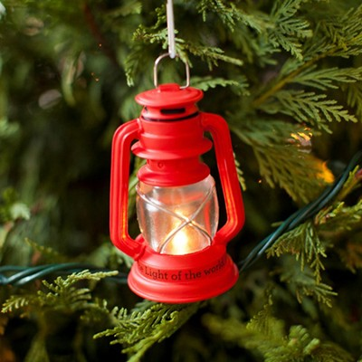 I Am the Light of the World Lantern Ornament  -