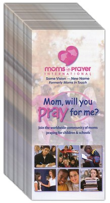 Moms in Prayer Brochure - English, 40 Pack   -     By: Fern Nichols