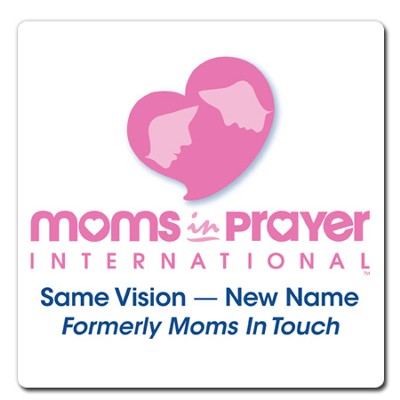 Moms in Prayer Large Labels, 5 per pack   -