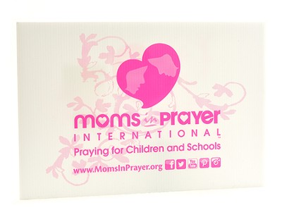 Moms in Prayer Lawn Sign - New!   -