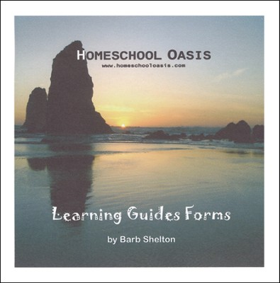 Homeschool Oasis Learning Guides Forms CD-Rom   -     By: Barb Shelton