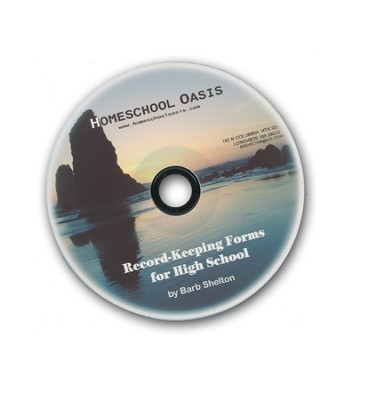 Homeschool Oasis Record-Keeping Forms for High School CD-Rom  -     By: Barb Shelton