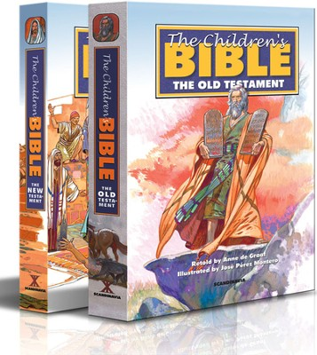 The Illustrated Bible, Old & New Testaments in 2-Volume Slipcase   -