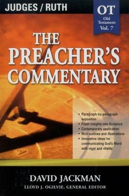 The Preacher's Commentary Vol 7: Judges/Ruth   -     Edited By: Lloyd John Ogilvie     By: David Jackman