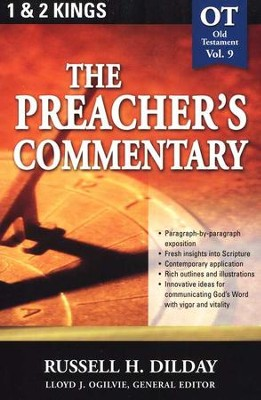 The Preacher's Commentary Vol 9: 1,2 Kings   -     By: Russell H. Dilday