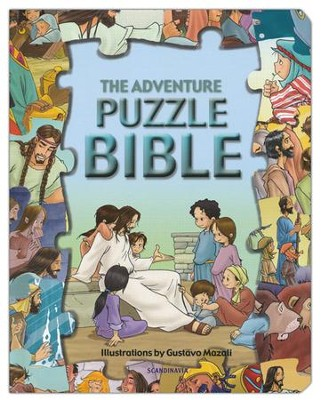 The Adventure Puzzle Bible   -     Illustrated By: Gustavo Mazali