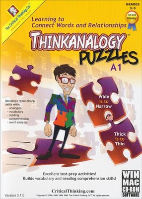 Think Analogy, Level A1, CD-Rom   -