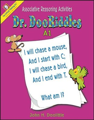 Dr. DooRiddles Associative Reasoning Activities Grades K-3 Ability Book A1  -     By: John H. Doolittle