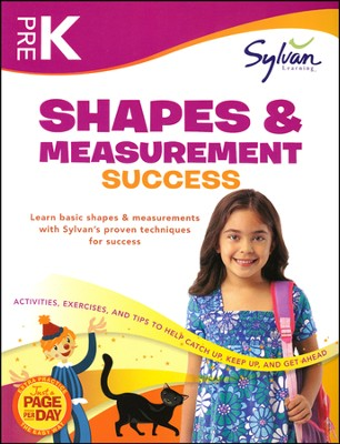 Pre K - Shapes & Measurement Success (Sylvan Workbooks)   -