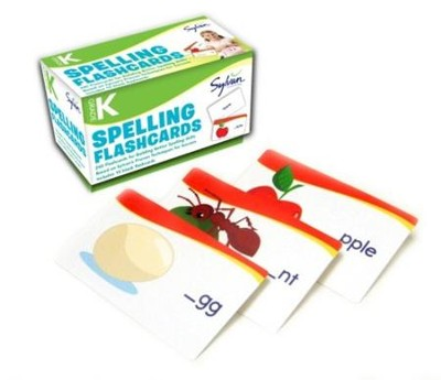 Spelling Flashcards - Kindergarten  -