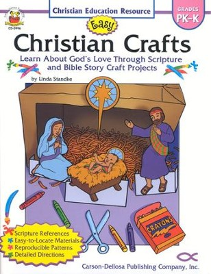 Easy Christian Crafts Grades PK-K  -     By: Linda Standke