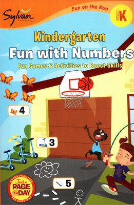Kindergarten Fun with Numbers - Fun on the Run Math  -     By: Sylvan Learning