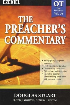 The Preacher's Commentary Vol 20: Ezekiel   -     By: Douglas Stuart