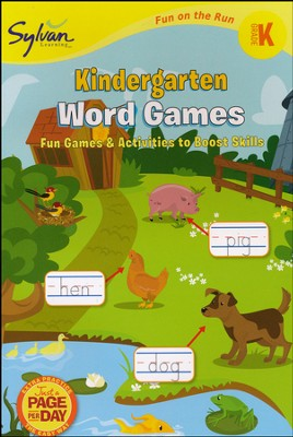 Kindergarten Word Games - Fun on the Run Language Arts  -     By: Sylvan Learning
