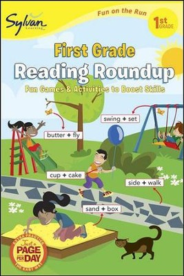 First Grade Reading Roundup - Fun on the Run Language Arts  -     By: Sylvan Learning