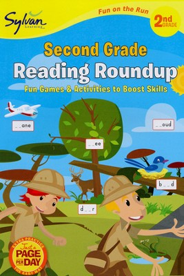 Second Grade Reading Roundup - Fun on the Run Language Arts  -     By: Sylvan Learning