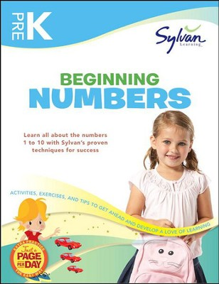 Pre-K Beginning Numbers (Sylvan Workbooks)  -     By: Sylvan Learning