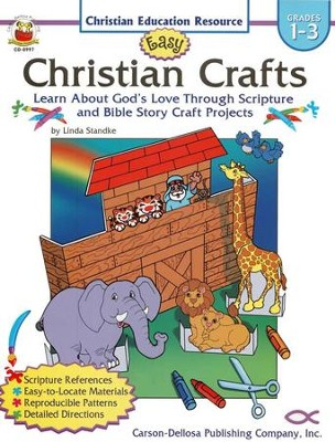 Easy Christian Crafts Grades 1-3  -     By: Linda Standke