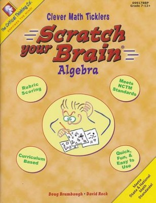 Scratch Your Brain Algebra   -