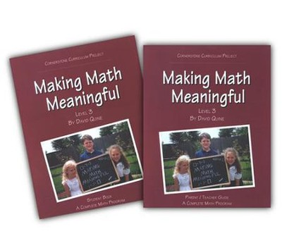 Making Math Meaningful Level 3   -