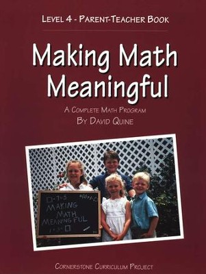 Making Math Meaningful Level 4   -