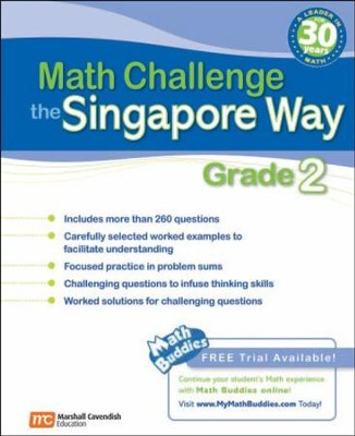Math Challenge the Singapore Way Grade 2   -